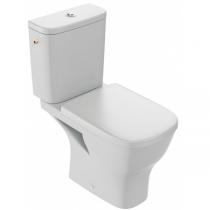 Pack WC à poser Struktura sans bride avec abattant Blanc - JACOB DELAFON Réf. E76003-00