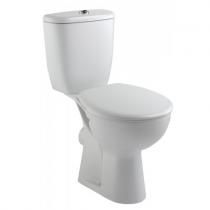 Pack WC Brive avec abattant Blanc - JACOB DELAFON Réf. E0383-00