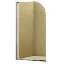 Pare-baignoire 1 volet 75cm verre transparent profilé Chromé - OZE Réf. PRB1VTC