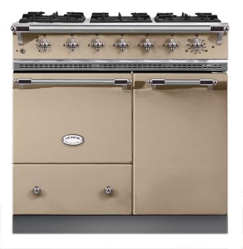 Piano de cuisson Lacanche Beaune 1 four gaz + 1 électrique ...