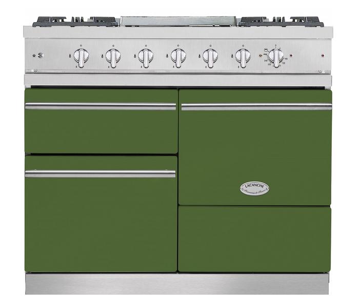 Piano de cuisson lacanche chagny modern 2 fours lectriques 1 grill plaque de cuisson 4 feux - Plaque de cuisson electrique 4 feux ...