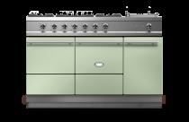 Piano de cuisson Lacanche Cluny 1400-D Modern 2 fours électrique / plaque de cuisson tradition 2 feux gaz + 1 plaque coup de feu