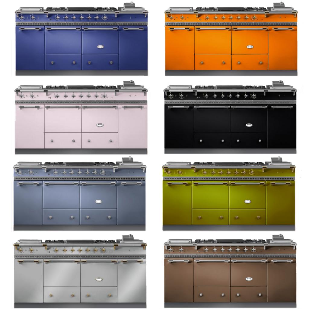 piano de cuisson lacanche cluny 1800 classic 2 fours gaz. Black Bedroom Furniture Sets. Home Design Ideas
