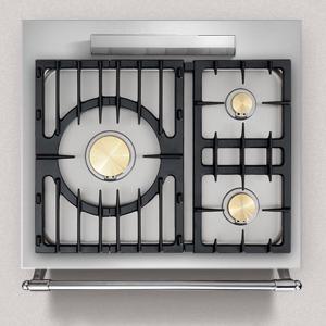 piano de cuisson lacanche cormatin 1 four lectrique multifonction plaque de cuisson 3 feux gaz. Black Bedroom Furniture Sets. Home Design Ideas
