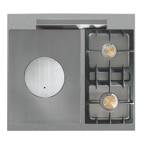piano de cuisson lacanche cormatin modern 1 four lectrique gril plaque de cuisson 2 feux gaz. Black Bedroom Furniture Sets. Home Design Ideas