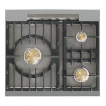 taille 40 4838c b2110 Piano de cuisson Lacanche Cormatin Modern 1 four gaz / plaque de cuisson 3  feux gaz
