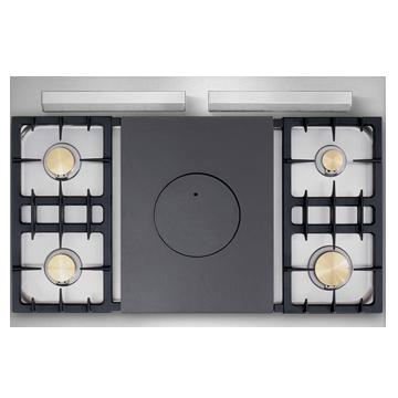piano de cuisson lacanche volnay modern four gaz plaque de cuisson 4 feux gaz coup de feu. Black Bedroom Furniture Sets. Home Design Ideas