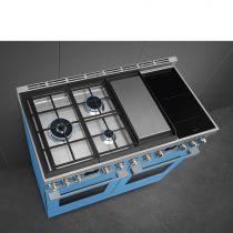 piano de cuisson portofino 120cm inox four pyrolyse avec sonde four vapeur 3 gaz 2