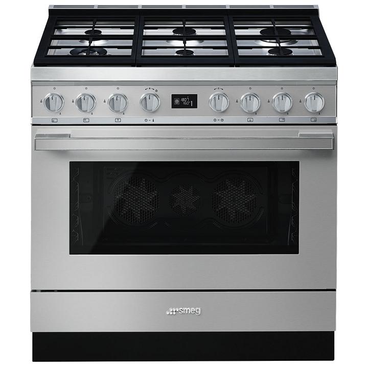 de cuisson Portofino 90cm Four multifonction 115l Vapor Clean / 6 ...