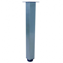 Pied carré 27-29cm Chromé (à l\'unité) - OZE Réf. PIEDC29