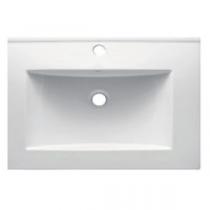 Plan vasque 61x46cm céramique Blanc - OZE Réf. VAS600CER