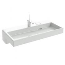 Plan-vasque Terrace L 100 Percé 1 trou avec bandeau LED Blanc - JACOB DELAFON Réf. EXC9112-00