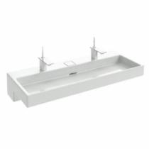 Plan-vasque Terrace L 120 Percé 1 trou avec bandeau LED Blanc - JACOB DELAFON Réf. EXB9112-00