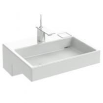 Plan-vasque Terrace L 60 Percé 1 trou avec bandeau LED Blanc - JACOB DELAFON Réf. EXE9112-00