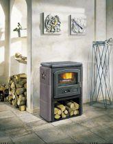 Poêle à bois Godin l\' Eco 363104 10kW avec bûcher Céramique