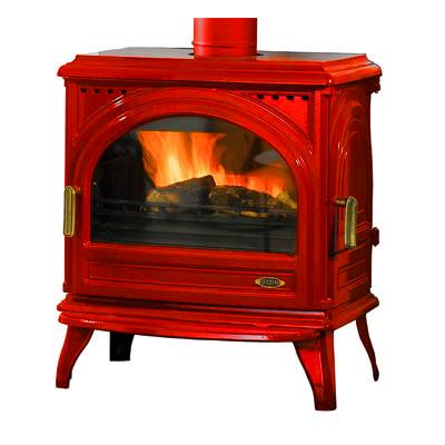 po le bois godin le carvin 366101 peint anthracite ou fonte maill e. Black Bedroom Furniture Sets. Home Design Ideas