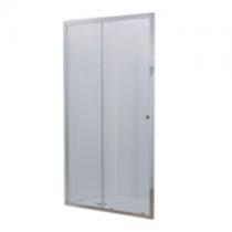 Porte coulissante serenity 140cm vitrage transparent for Porte coulissante salon 140 cm
