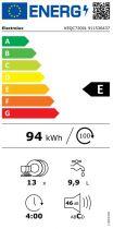 PROMO : Lave-vaisselle tout intégrable 60cm 13 couverts 9.9l A++ - Electrolux Réf. KEQC7200L