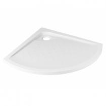 Receveur 1/4 de rond extra-plat Millennium 100x100cm Blanc - SANINDUSA Réf. 800090