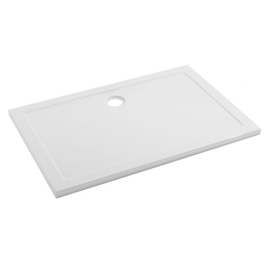 Receveur à encastrer Open 100x70cm Blanc - SANINDUSA Réf. 801160