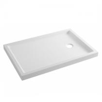 Receveur à poser Pinao 100x70cm Blanc - SANINDUSA Réf. 80236
