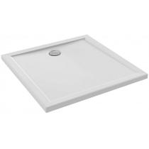 Receveur carré Kyreo 90x90cm céramique Blanc - JACOB DELAFON Réf. ENC90-00