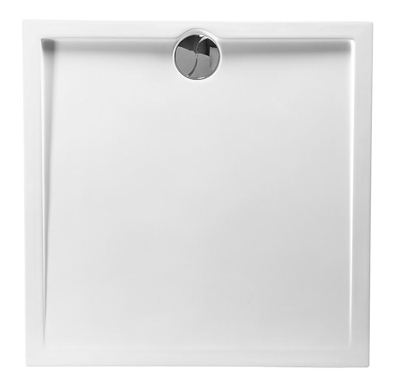 Receveur carré Prefixe 90x90cm Blanc - AQUARINE Réf. 814054