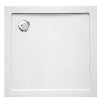 Receveur carré Tao 80x80cm acrylique Blanc - OZE Réf. TAO80