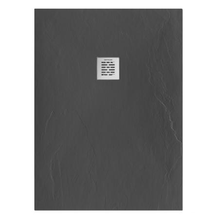 Receveur de douche Marina 110x80cm Noir - SANINDUSA Réf. 9511008016
