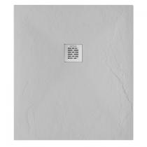 Receveur de douche Marina 90x80cm Gris - SANINDUSA Réf. 9509008013