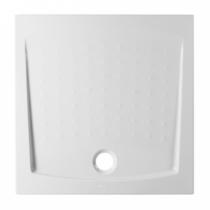 Receveur extra-plat Millennium 90x90cm Blanc - SANINDUSA Réf. 800070
