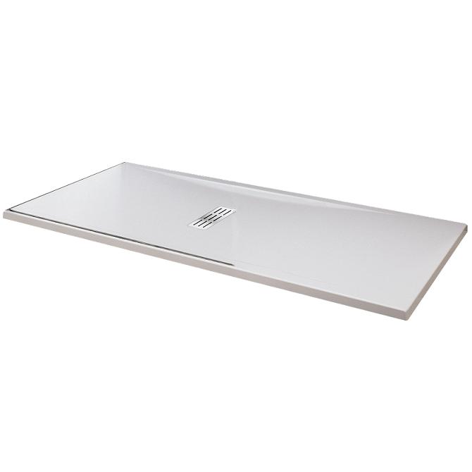 receveur extra plat novellini custom blanc doux. Black Bedroom Furniture Sets. Home Design Ideas