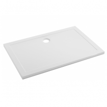 Receveur extra-plat Open 100x90cm Blanc - SANINDUSA Réf. 800980
