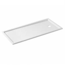 Receveur extra-plat Piano 160x75cm Blanc - SANINDUSA Réf. 80224
