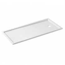 Receveur extra-plat Piano 180x80cm Blanc - SANINDUSA Réf. 80229