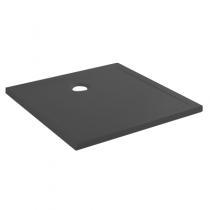 Receveur extra-plat Steppin 80x80cm antidérapant Noir - SANINDUSA Réf. 107520064AD