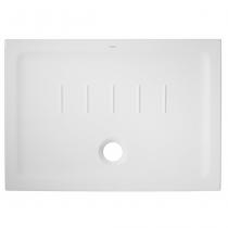 Receveur extra-plat Waterline 100x70cm Blanc - SANINDUSA Réf. 107452