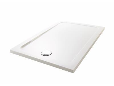flight 120 x 80 rectangulaire acrylique blanc - jacob delafon réf