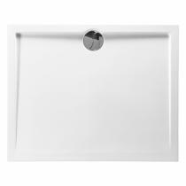 Receveur rectangle Prefixe 100x80cm Blanc - AQUARINE Réf. 814050