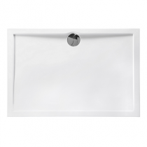 Receveur rectangle Prefixe 120x80cm Blanc  - AQUARINE Réf. 814051