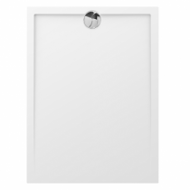Receveur rectangle Prefixe 120x80cm Blanc - AQUARINE Réf. 820888