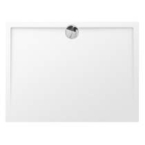 Receveur rectangle Prefixe 120x80cm Blanc - AQUARINE Réf. 820889