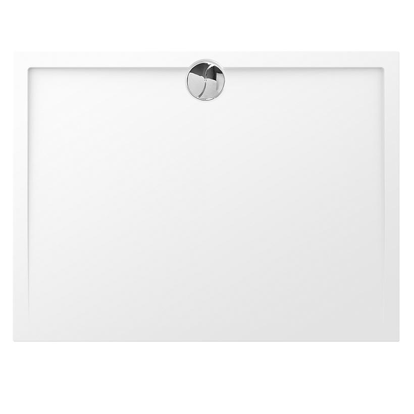 Receveur rectangle Prefixe 140x90cm Blanc - AQUARINE Réf. 820887
