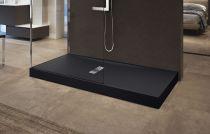 Receveurs de douche Novellini Custom bord 12 cm noir