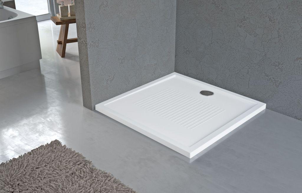 Receveurs de douche Novellini New Olympic bord 4,5 cm blanc