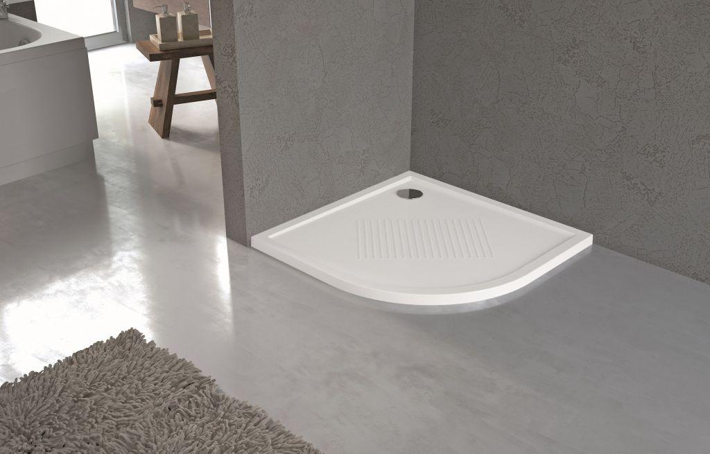 Receveurs de douche Novellini New Victory bord 4,5 cm blanc