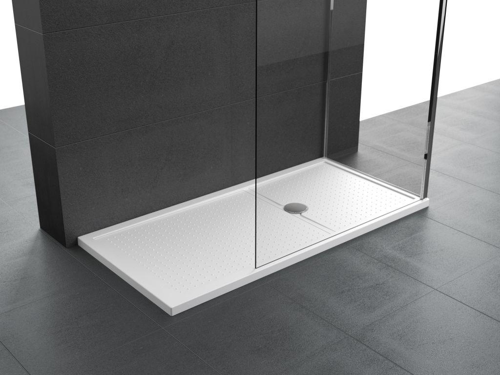 Receveurs de douche Novellini Olympic Plus bord 4,5 cm blanc