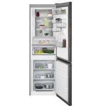 Réfrigérateur combiné pose libre 208+94l A++ Inox Noir - AEG Réf. RCB732E5MB