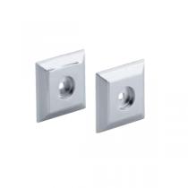 Rosaces décoratives contemporaines carrées pour barre Eo E8524 - JACOB DELAFON Réf. E421-CP