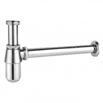 """Siphon lavabo Estandar 1\"""" 1/4 Chromé - GRB Réf. 00030001"""